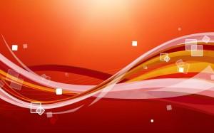 Desktop Wallpaper: Yellow White And Ora...