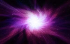 Desktop Wallpaper: Pink And White Galax...