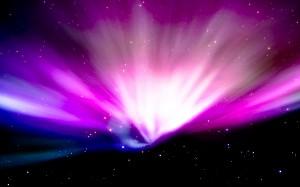 Desktop Wallpaper: Purple And Blue Gala...
