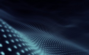 Desktop Wallpaper: Blue And Black 3d Wa...