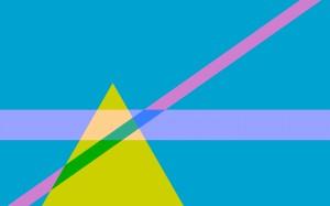 Desktop Wallpaper: Green Triangle Illus...