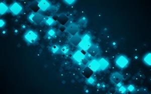 Desktop Wallpaper: Pixels Illustration