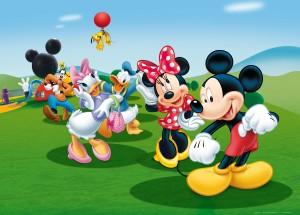Desktop Wallpaper: Mickey Minnie Donald...