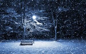 Desktop Wallpaper: Snow Scene