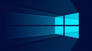 Desktop Wallpaper: Blue Windows Logo