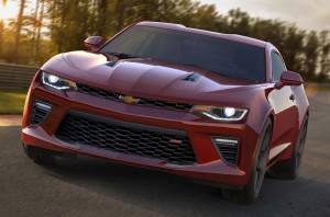 Desktop Wallpaper: Red Chevy Camaro