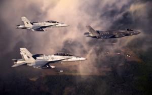 Desktop Wallpaper: Black Eagle Aircraft