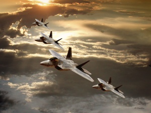Desktop Wallpaper: White And Brown Jet ...