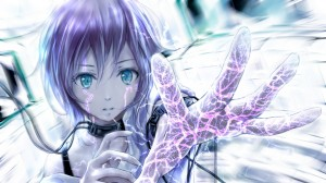Desktop Wallpaper: Anime Character With...
