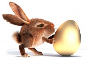 Desktop Wallpaper: Bunny Egg