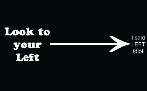 Desktop Wallpaper: Look To Your Left I ...