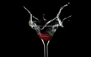Desktop Wallpaper: Beverage Splash From...