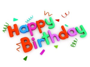 Desktop Wallpaper: Happy Birthday Text