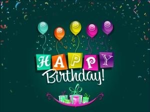 Happy Birthday Sign - скачать обои на рабочий стол