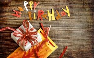 Desktop Wallpaper: Happy Birthday Logo ...