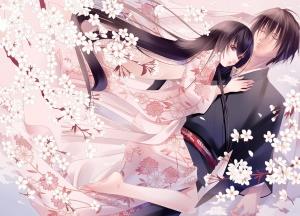 Desktop Wallpaper: Anime Characters Wed...