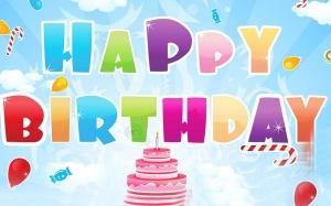 Desktop Wallpaper: Happy Birthday Sign