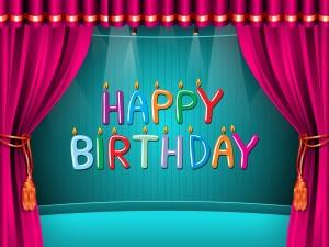 Happy Birthday Illustration - скачать обои на рабочий стол