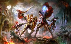 Desktop Wallpaper: War Gaming Character...