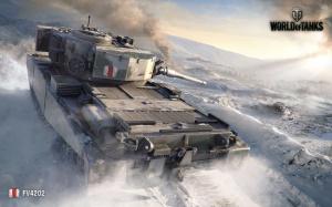 Desktop Wallpaper: World Of Tanks Game