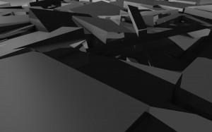 Desktop Wallpaper: Black And White Illu...
