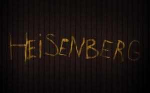 Desktop Wallpaper: Heisenberg Text