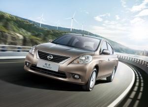 Desktop Wallpaper: Brown Nissan Sunny O...
