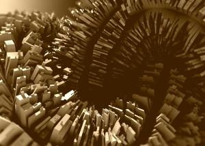 Desktop Wallpaper: Spiral Blocks
