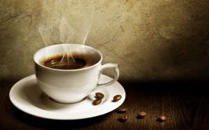 Desktop Wallpaper: White Ceramic Coffee...