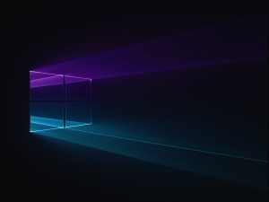 Desktop Wallpaper: Purple And Teal Grap...