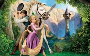 Desktop Wallpaper: Rapunzel Illustratio...
