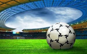 Desktop Wallpaper: Green Glass Soccer F...