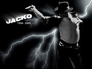 Desktop Wallpaper: Michael Jackson with...