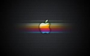 Desktop Wallpaper: Multicolored Apple L...