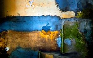 Desktop Wallpaper: Abstract Apple Logo