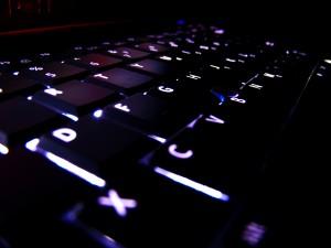 Lighted Laptop Computer Keyboard - скачать обои на рабочий стол