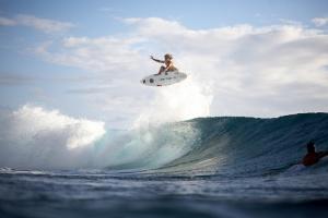 Desktop Wallpaper: Man On A Surf Board ...