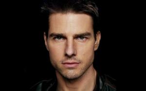 Desktop Wallpaper: Tom Cruise In Black ...