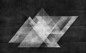 Desktop Wallpaper: White And Black Grap...