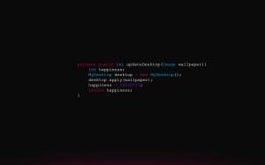 Desktop Wallpaper: Programming Language...