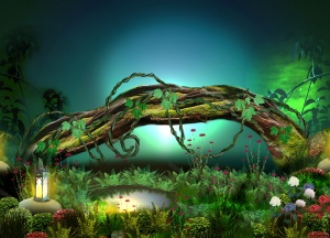 Desktop Wallpaper: Brown Tree Trunk Sur...