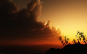 Dark Clouds - скачать обои на рабочий стол