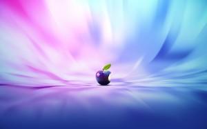 Desktop Wallpaper: Apple Fruit In Purpl...