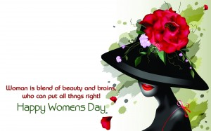 Desktop Wallpaper: Happy Womens Day