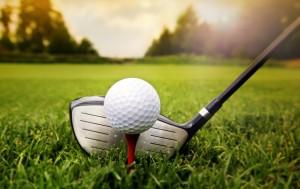 Desktop Wallpaper: Golf Ball On A T And...