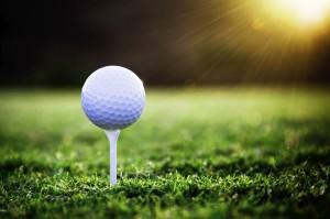 Desktop Wallpaper: Golf Ball On Stick A...