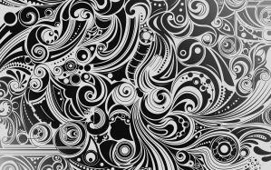 Desktop Wallpaper: Black and white pais...