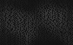 Desktop Wallpaper: Black white textile