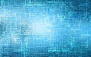 Desktop Wallpaper: Blue illustration