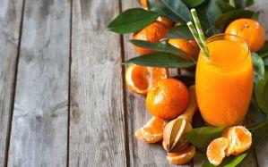 Desktop Wallpaper: Orange juice
